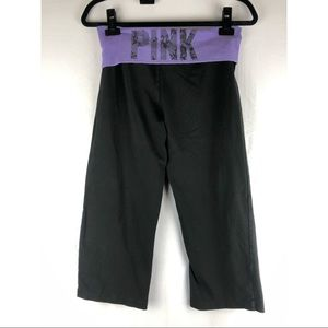 PINK Victoria's Secret Pants & Jumpsuits - PINK VICTORIA'S SECRET Crop Legging